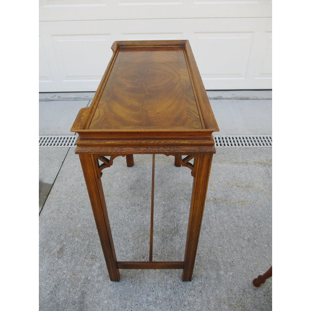 Chippendale Chippendale Style Console Table For Sale - Image 3 of 11