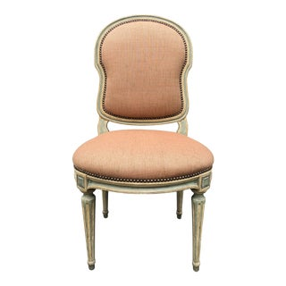 Dennis and Leen Louis XVI Side Chair For Sale