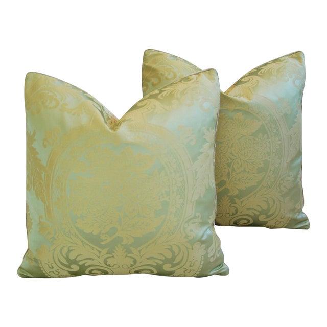 French Nobilis Palais Royal Silk Amp Velvet Pillows A Pair