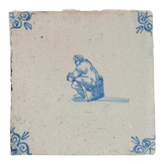 Delft Wall Tile For Sale