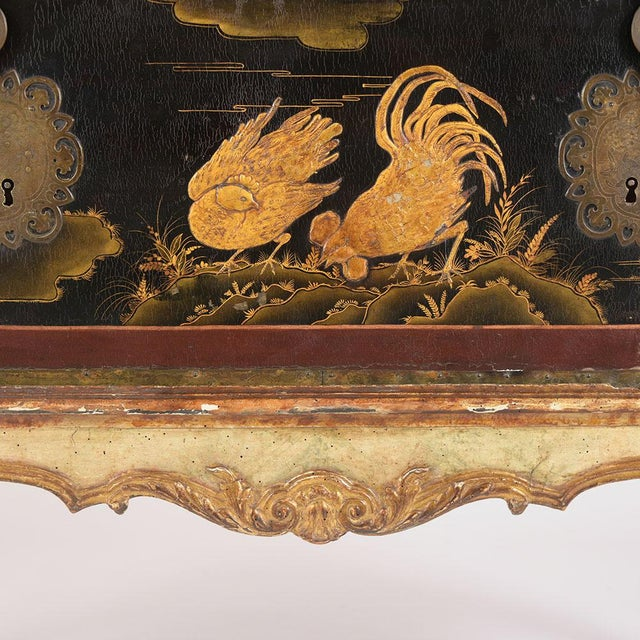 Chinoiserie Mid 19th Century Spanish Chinoiserie Trunk For Sale - Image 3 of 13