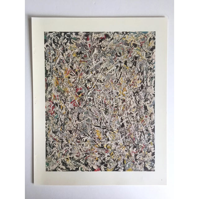 "Willem de Kooning Vintage 1966 ""Contemporary American Painters"" Abstract Expressionists Lithograph Prints Folio - Set of 6 For Sale - Image 4 of 13"