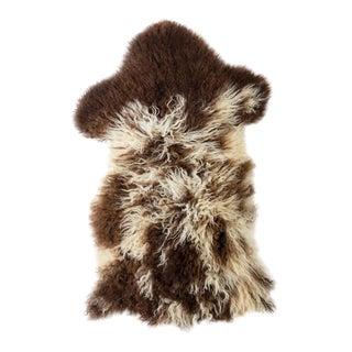 """Contemporary Natural Sheepskin Pelt - 1'9""""x3'0"""" For Sale"""