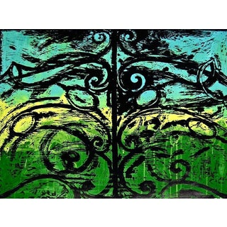 Jim Dine The First Wood Gate 1983 For Sale