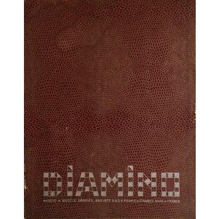 Vintage French Letter Game Set For Sale