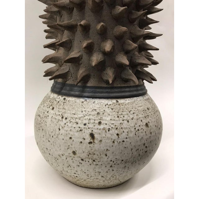 Sculptural Studio Pottery Vase - Image 4 of 7