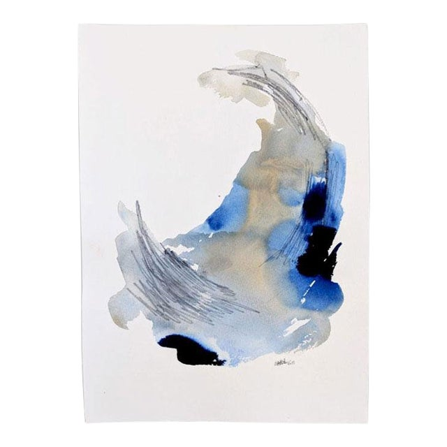 """Transforming Lines Ii"" Original Painting by Ellen Sherman For Sale"