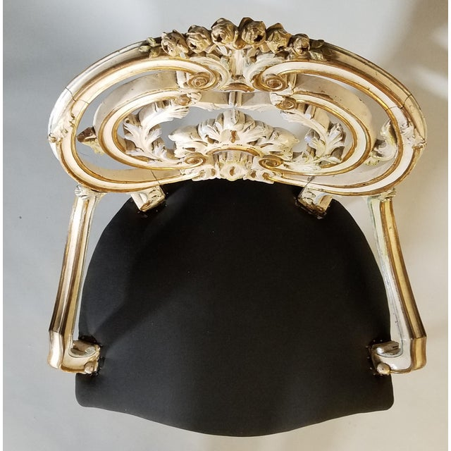 Pair of Late 19th Century Louis XIV Style Signed Maison Jansen Arm Chairs For Sale - Image 10 of 12