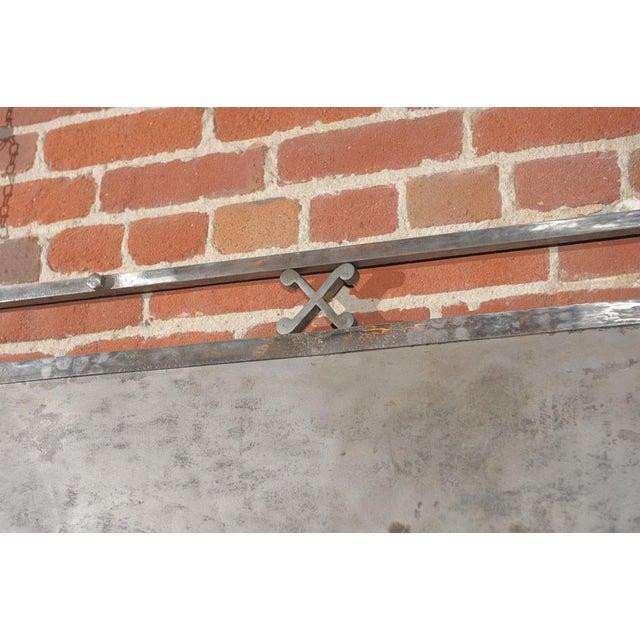 Chromed Iron Hanging Sign - Image 8 of 9
