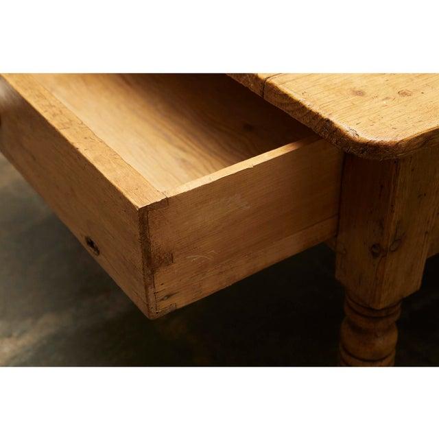 English Pine Coffee Table - Image 6 of 8