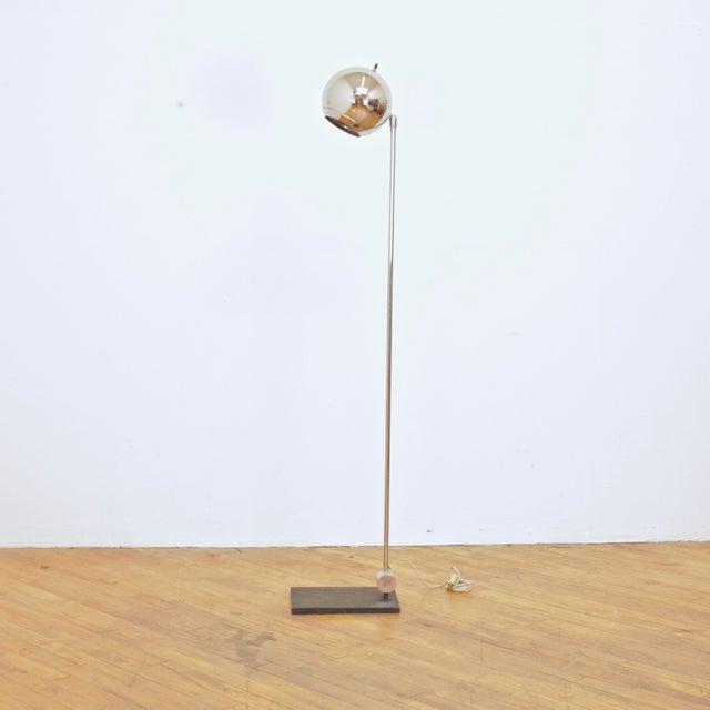 1970s Robert Sonneman Orb Floor Lamp For Sale - Image 9 of 9