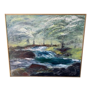 Roger Berghoff Seascape Painting For Sale