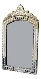 Image of Mother-of-Pearl Mantel and Fireplace Mirrors