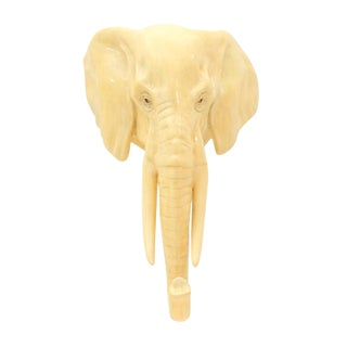 1986 Sergio Bustamante Elephant Trophy Sculpture For Sale