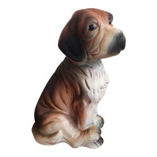 1950s Vintage Hound Figurine For Sale