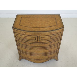 1990s Art Deco Maitland Smith Leather Wrapped Bachelor Chest Preview