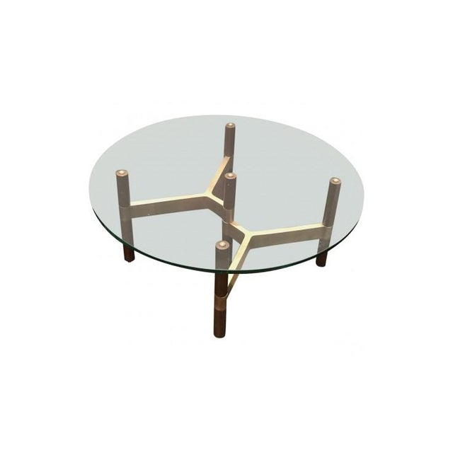 Danish Modern Danish Modern Design Within Reach Helix Coffee Table For Sale - Image 3 of 6