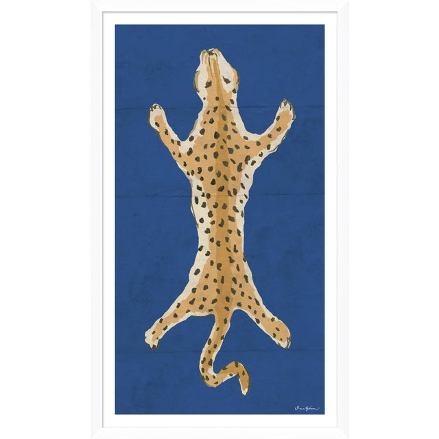 "Contemporary ""Leopard Series"" By Dana Gibson, Framed Art Print For Sale - Image 3 of 3"