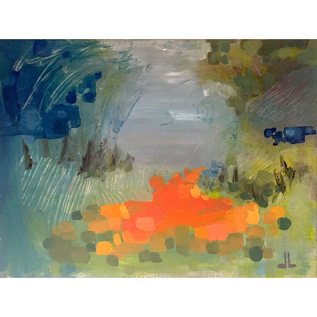 Contemporary Abstract Acrylic Painting - Image 1 of 2