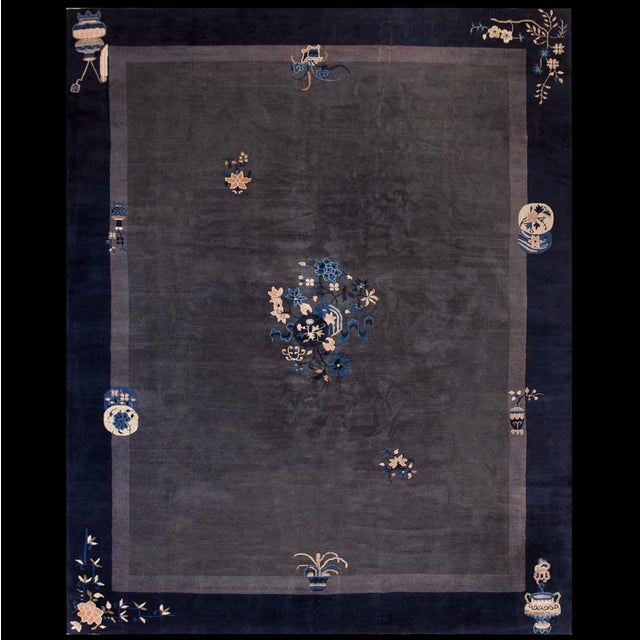 Antique Chinese Peking Rug For Sale In New York - Image 6 of 6
