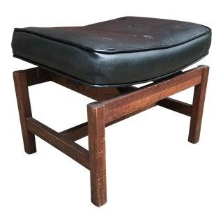 1950s Vintage Jens Risom Style Bench