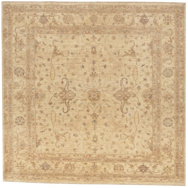 Hand Knotted Pakistan Rug - 8'x 8' For Sale