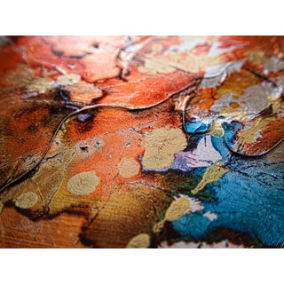 "Abstract Limited Edition Print on Metallic Paper & Acrylic Mount 24""x30"" - Festiva Macro 209"