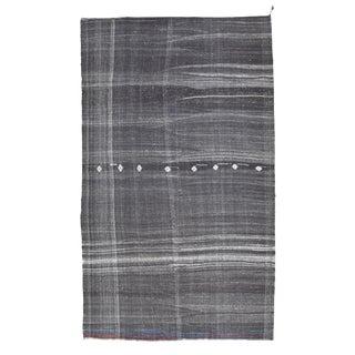 Vintage Mid-Century Modern Kilim Rug-7′ × 11′11″ For Sale