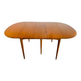 Mid-Century Modern Bernhardt Extendable Drop Leaf Table For Sale