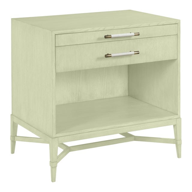 Shea Bedside Table, Guilford Green For Sale