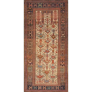 """Pasargad Home Antique Shirvan Area Rug- 2' 7"""" X 5' 5"""" For Sale"""