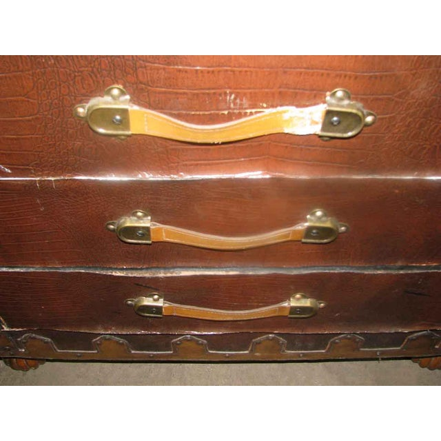 Asian Campaign Style Cabinet For Sale - Image 5 of 10