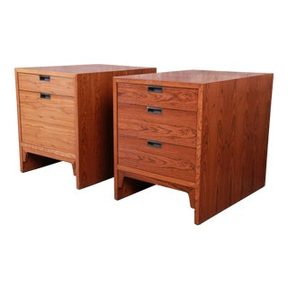 Edward Wormley for Dunbar Rosewood Chests of Drawers or Nightstands - a Pair For Sale