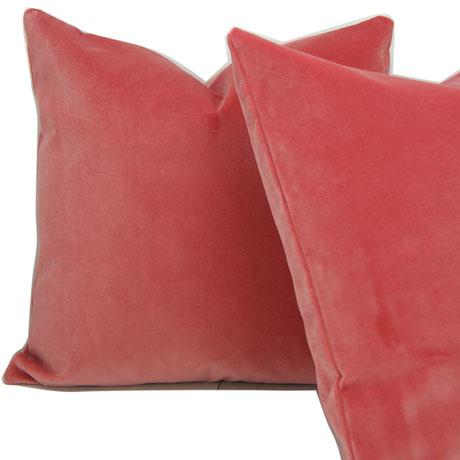 Contemporary Tulip Velvet Pillow Cover For Sale - Image 3 of 4