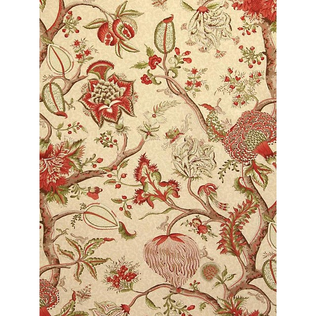 "From the Scalamandre collection. Pattern is large. Pattern repeat is 40.75""L x 26.5""W One yard minimum."