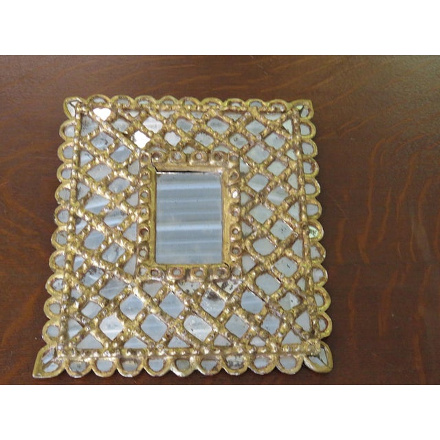 Antique Accent Mirror For Sale - Image 10 of 10