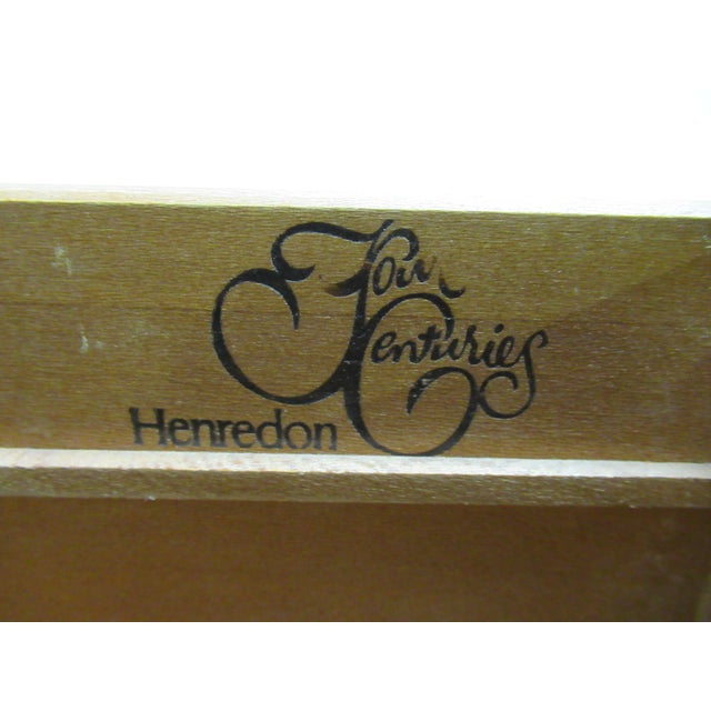 1980s Vintage Henredon Four Centuries French Country Style Bachelors Commode For Sale In Philadelphia - Image 6 of 12