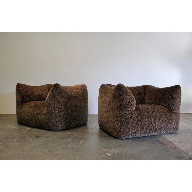 """1970s Mario Bellini """"Le Bambole"""" Chairs & Ottoman For Sale - Image 9 of 13"""