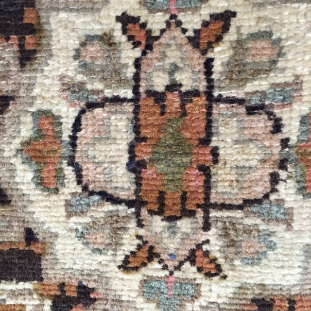 Hamadan Handmade Persian Rug - 1′6″ × 2′2″ - Image 6 of 9