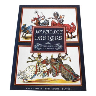 "Vintage ""Heraldic Designs"" Poster Art Book For Sale"
