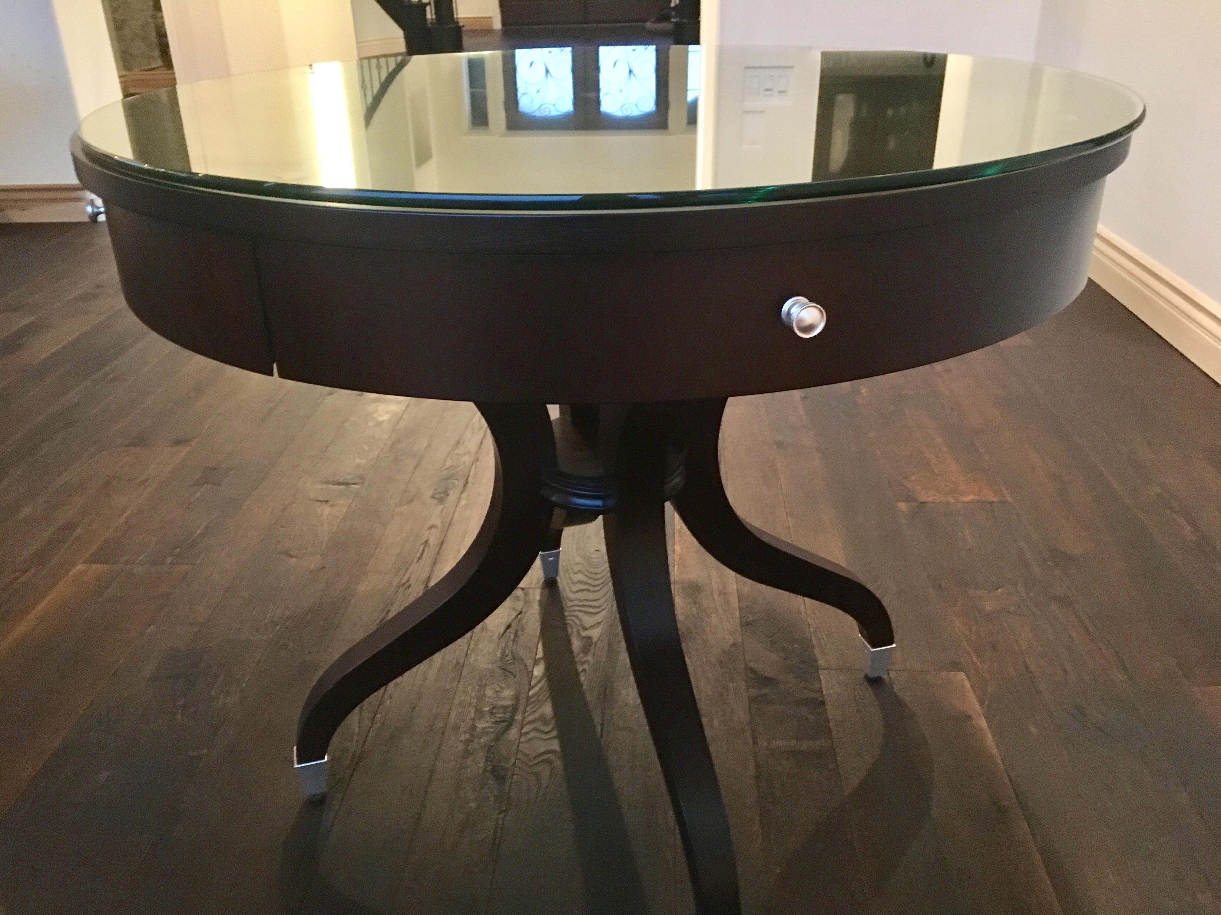 Charmant Ethan Allen Wilshire Table   Image 4 Of 8
