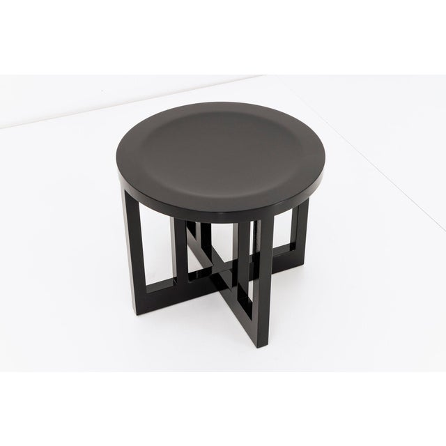 SET OF SIX RICHARD MEIER STOOLS For Sale - Image 5 of 8