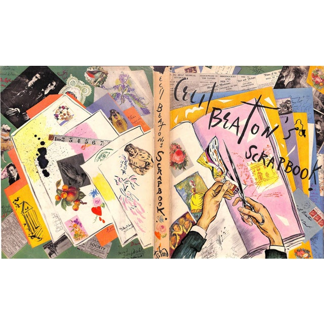 Cecil Beaton's Scrapbook For Sale - Image 11 of 11