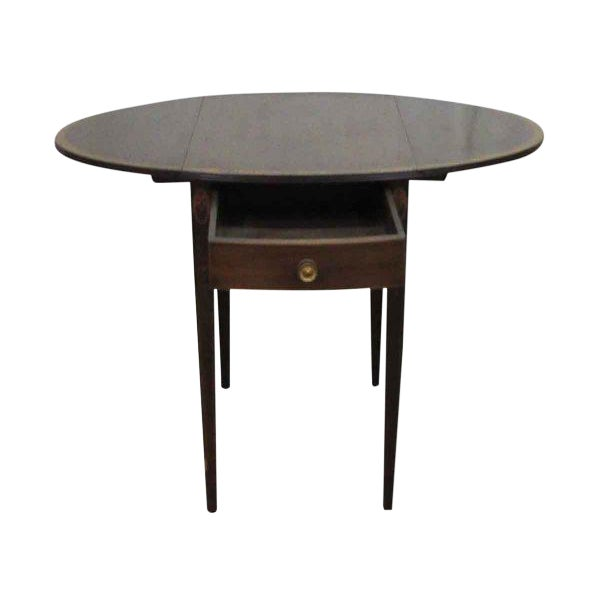 Small Drop Leaf Tables - a Pair For Sale