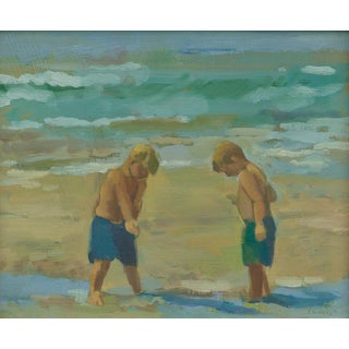 "Amy Griffith Colley ""Boys at the Beach"" Print For Sale"