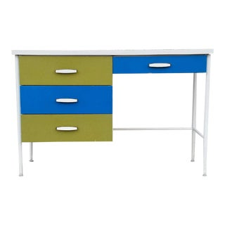 Vintage Mid-Century Vista of California Desk