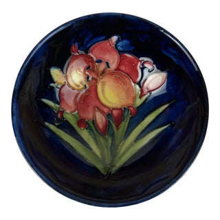 Moorcroft Lily Bowl For Sale