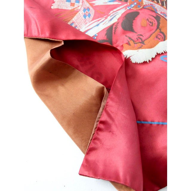 Mid 20th Century 1950s USA Souvenir Pillowcase For Sale - Image 5 of 5