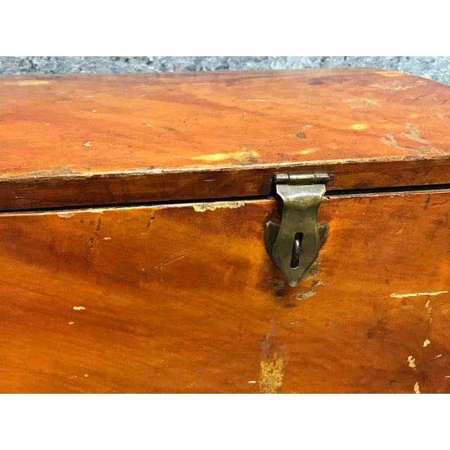 French Barrel Top Chest For Sale - Image 5 of 7