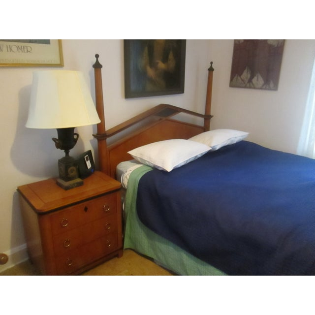 National Mt. Airy Tiger Maple Nightstand - Image 4 of 4